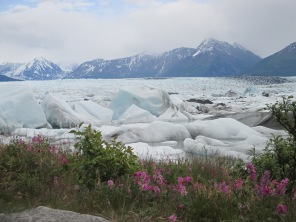 Knik Glacier is 50 miles east of Anchorage.